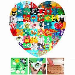 Herz Holz Puzzle